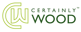 Cwertainly Wood Logo
