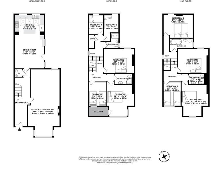 Floorplan for ForeShore