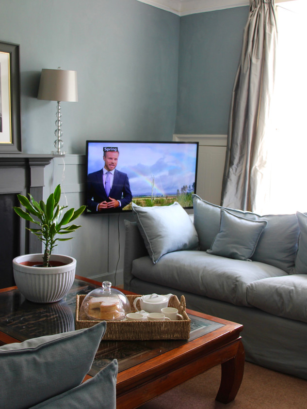 Squishy sofas for relaxing and watching a film