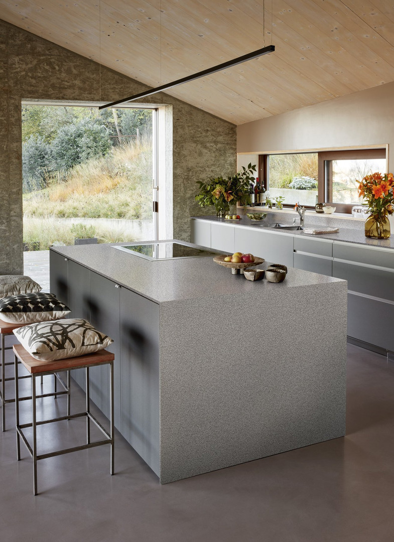 Living space for a kitchen garden