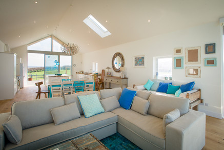 Comfa sofas offer relaxation after a day at Widemouth Bay