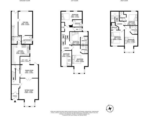 Wyvern House, Bude, floorplan
