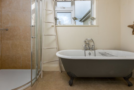 Start the day in style with a walk-in shower