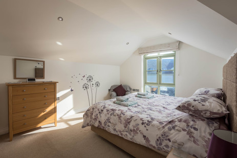 Rest easy under the eaves in this double bedroom
