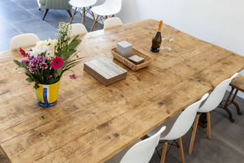 A beautiful bespoke dining table