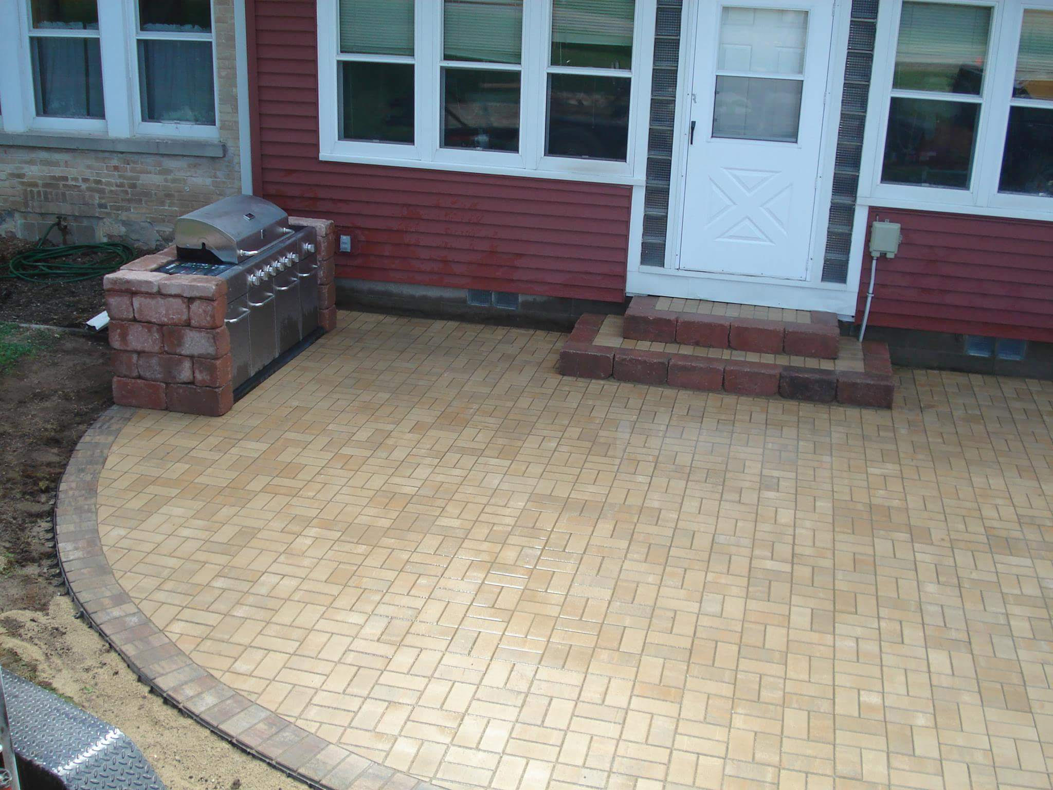 Patio Before / After