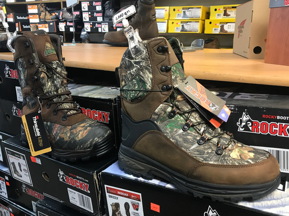 Camo Hunting Boots 4