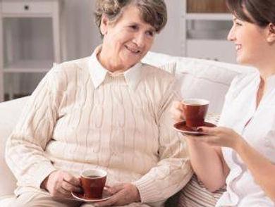 Ladies having coffee