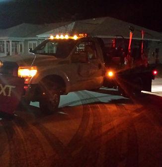 night snow removal