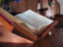 Bible at church