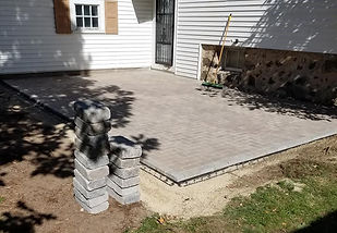 patio pavers installation