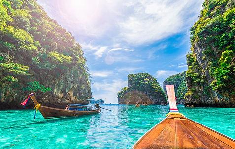 View of Loh Samah Bay, Phi Phi island, T