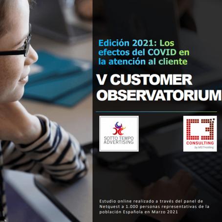 Más del 72% de la población española en el 2020/21, ha utilizado un servicio de atención al cliente