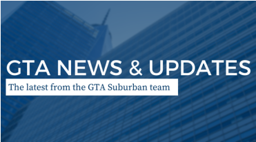 Exciting Changes and Updates From the GTA Suburban Team