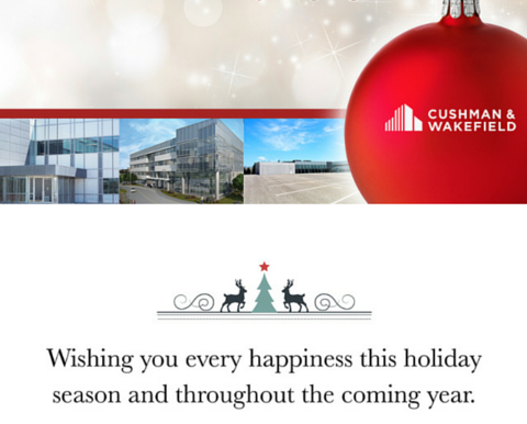 Happy Holidays from the team at GTA Suburban Corporate Real Estate