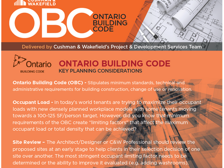 The Ontario Building Code