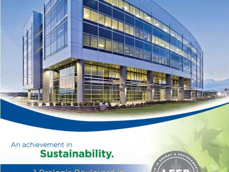 1 Prologis Boulevard earns LEED® CS Gold Certification