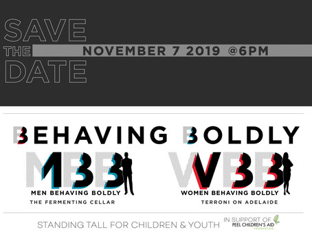 Save the Date! Behaving Boldly is Back.