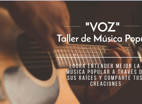 El Taller de música Popular Voz y el otoño.