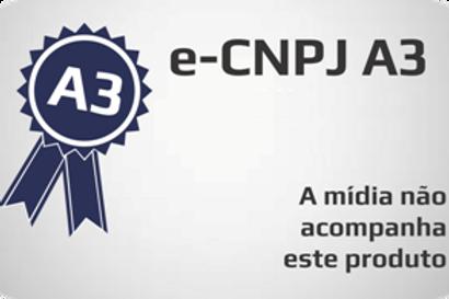 E-CNPJ A3 s/ mídia