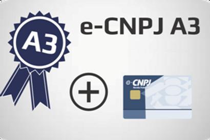 E-CNPJ A3 + Cartão