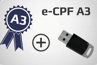 E-CPF A3 + Token