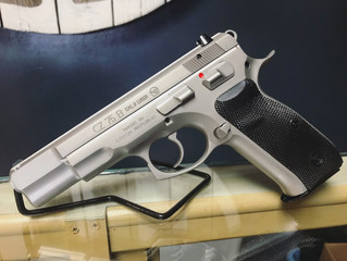 For Sale - CZ 75 B Matte Stainless 9mm - $760