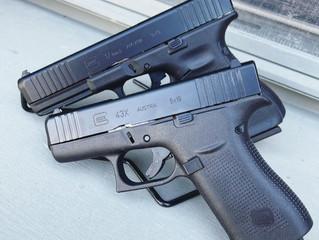 Glock 17 G5 & 43x - $650/520