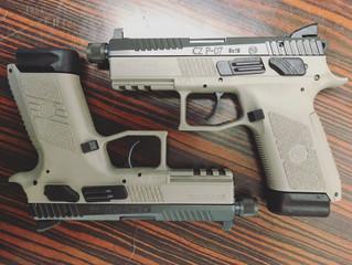 For sale - CZ P-07 Supressor Ready 9mm - $540