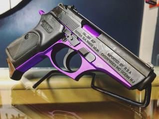 For Sale - Bersa Thunder .380 Black/Purple - $280
