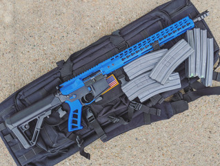 For Sale - Anderson Black/Blue AR15 5.56 - $520