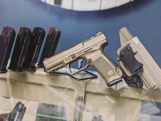 Canik TP9 Burnt Bronze 9mm - $340
