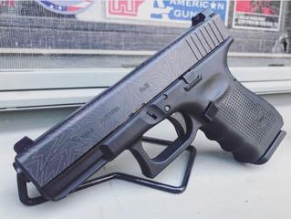 For Sale - Glock 19 Gen 4 / Laser Engraved, Enhanced Sights - $650