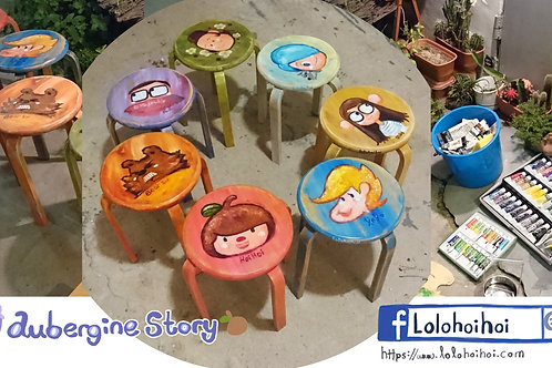 lolo hoihoi wooden chair