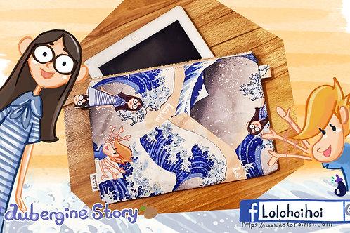 lolohoihoi Sindy'sBigwave ipad bag