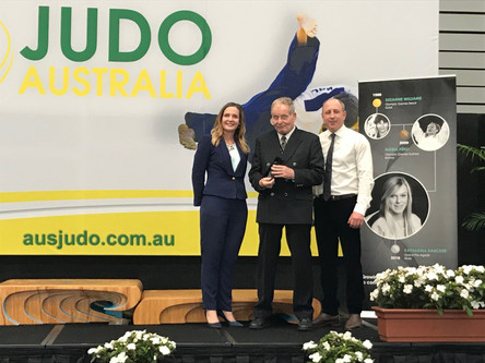NOTE OF THANKS FROM OUTGOING JUDO AUSTRALIA CHAIR KATE CORKERY