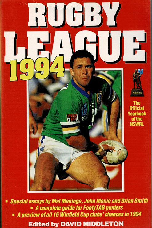 RUGBY LEAGUE 1994 Edited by David Middleton