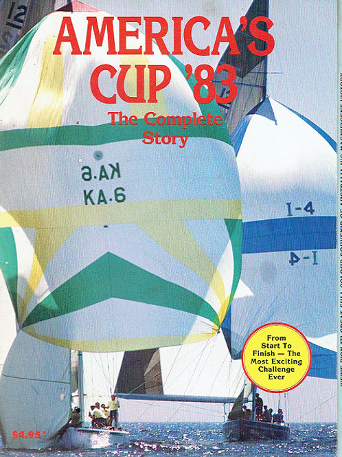 AMERICA'S CUP '83, THE COMPLETE STORY by John Fairfax Marketing
