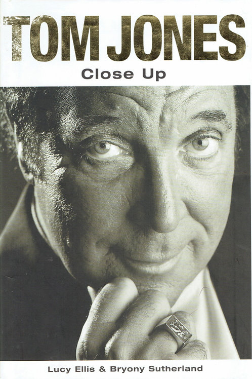 TOM JONES CLOSE UP by Lucy Ellis & Bryony Sutherland