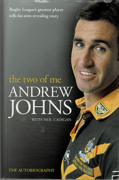 THE TWO OF ME by Andrew Johns