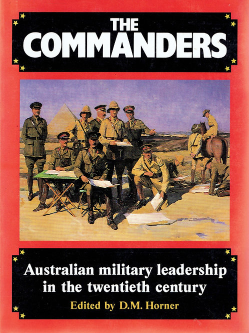 THE COMMANDERS by D M Horner