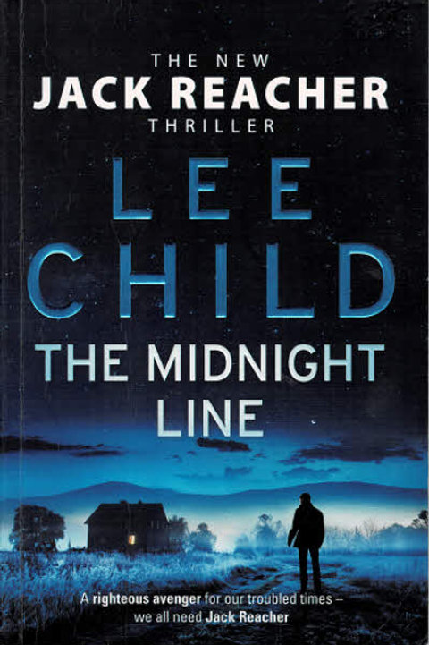THE MIDNIGHT LINE by Lee Child - Trade Paper Back Copy