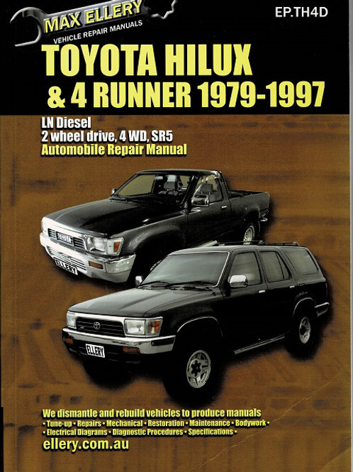 TOYOTA HILUX & 4 RUNNER 1979-1997 by Ed Ellery
