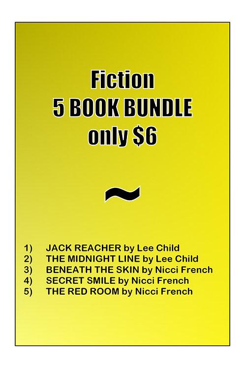 FICTION BUNDLE (5 books)