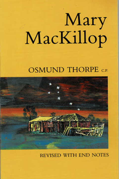 MARY MACKILLOP by Osmund Thorpe