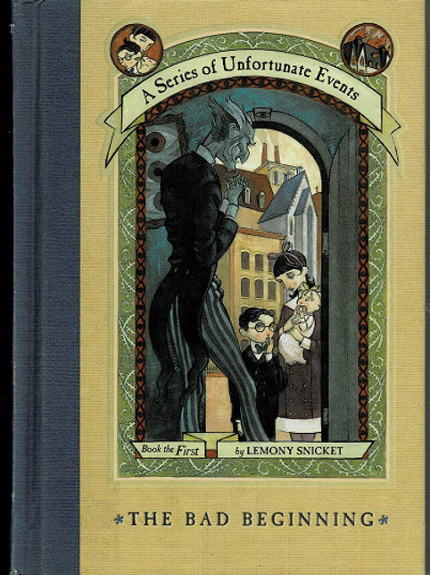 A SERIES OF UNFORTUNATE EVENTS by Lemony Snicket (13 books)