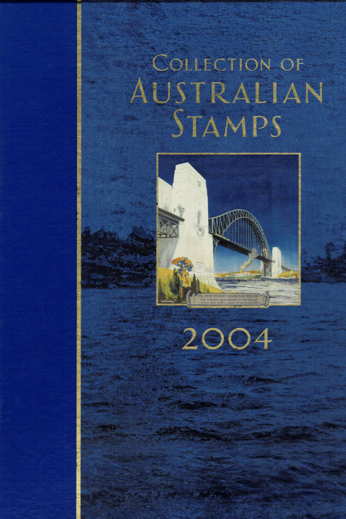 COLLECTION OF AUSTRALIAN STAMPS 2004