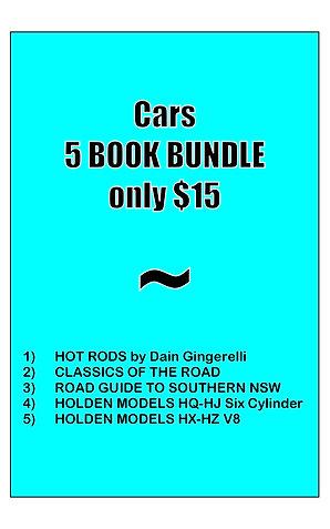 CARS BUNDLE (5 books)