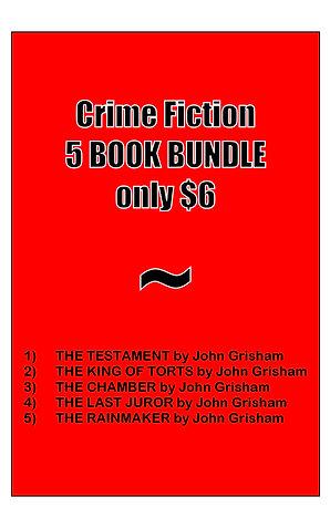 CRIME FICTION BUNDLE (5 books)