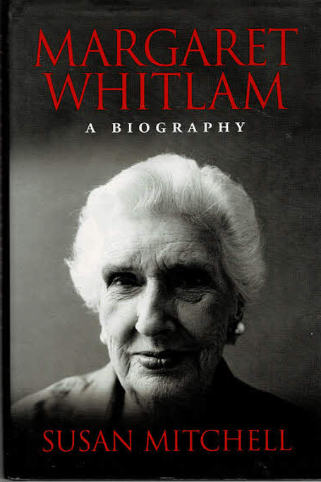 MARGARET WHITLAM by Susan Mitchell